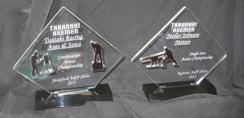 Trophy manufacturers NZ, Glass awards New Zealand Wellington